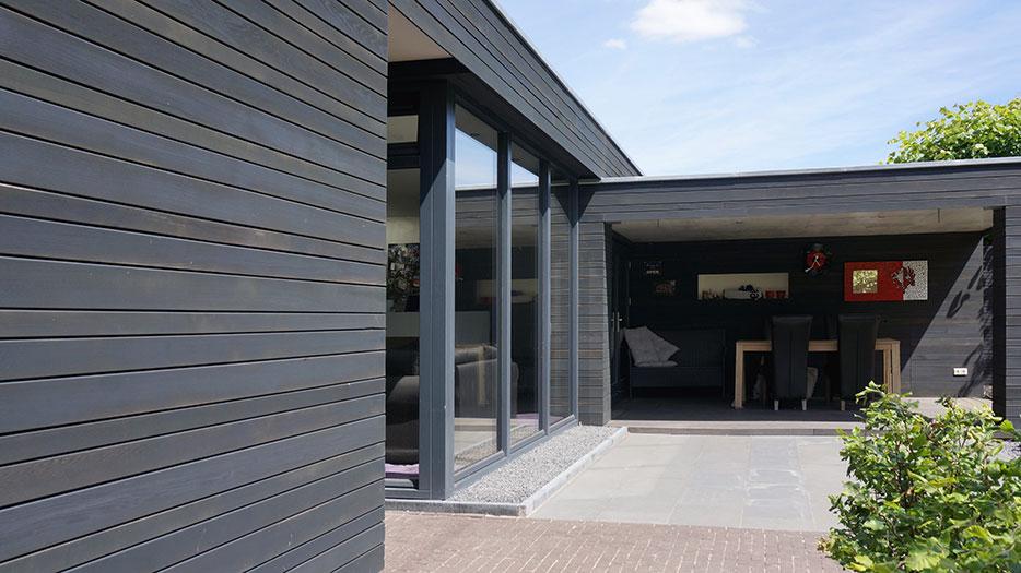 Architect aanbouw raymond horstman for Moderne aanbouw aan klassiek huis