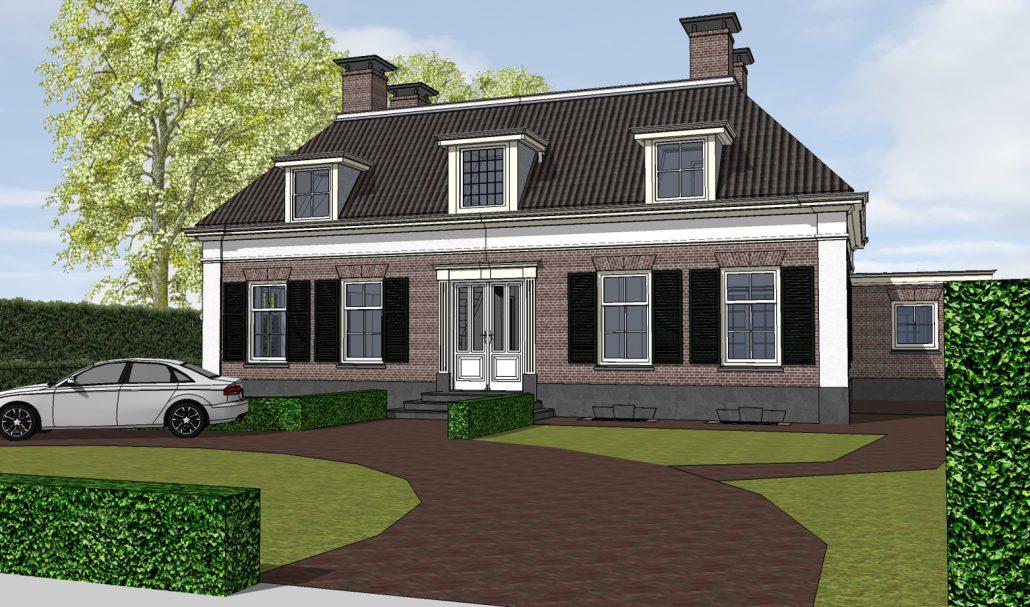 nieuwbouw klassieke woning