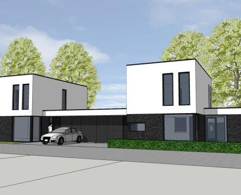 nieuwbouw dubbel blok
